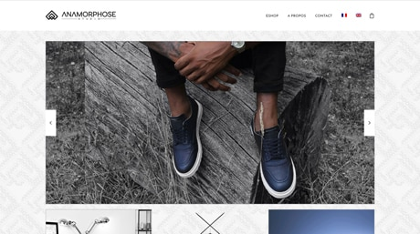 Anamorphose Studio - Site E-Commerce